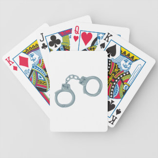 Handcuffs Bicycle Playing Cards