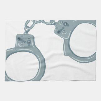 Handcuffs Hand Towel