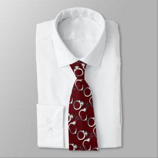 handcuffs neck tie