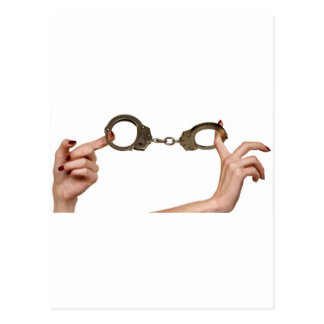 Handcuffs Postcard