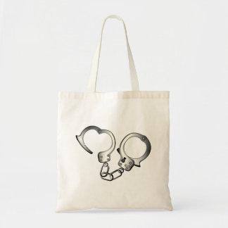 Handcuffs Tote Bag