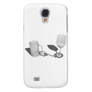 HandcuffsBeerSteinWineGlass112611 Galaxy S4 Case