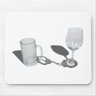 HandcuffsBeerSteinWineGlass112611 Mouse Pad