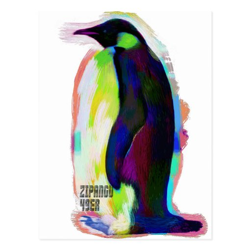 Handdrawn Penguin penguin: [ZIPANGU49ER] feat. I Post Cards