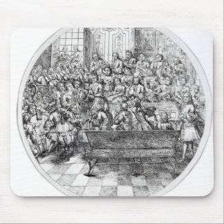Handel conducting an oratorio, c.1740 mouse pad