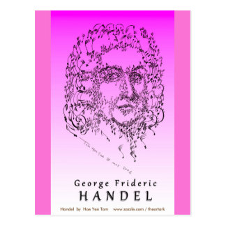Handel: Face the Music Postcard