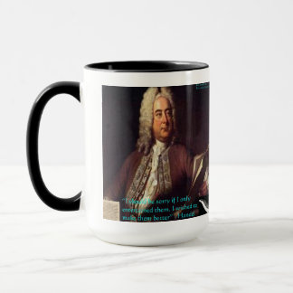 Handel Making People Better Quote Gifts & Cards Mug