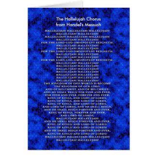 Handel Messiah Christmas Cards