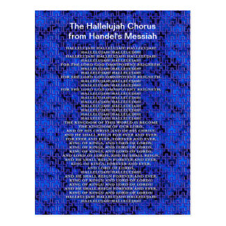 Handel Messiah Christmas Post Cards