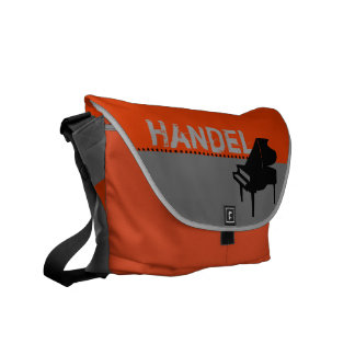 Handel Piano Orange Messenger Bag