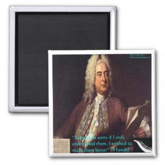 Handel que hace gente mejores regalos y tarjetas d imanes para frigoríficos
