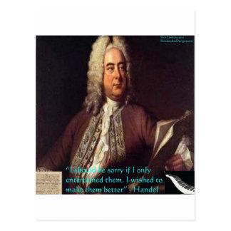 Handel que hace gente mejores regalos y tarjetas d tarjetas postales