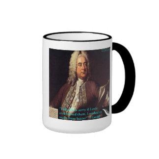 Handel que hace gente mejores regalos y tarjetas d tazas de café
