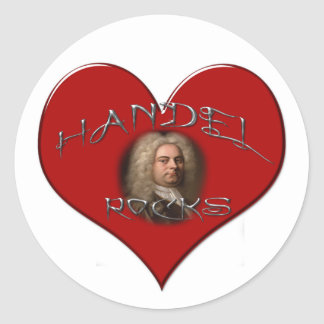 Handel Rocks Stickers