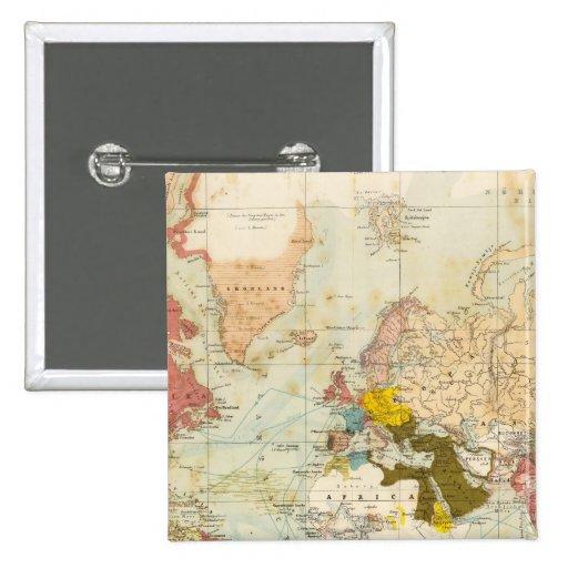 Handels Colonial Atlas Map Button