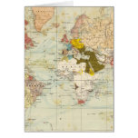 Handels Colonial Atlas Map Card