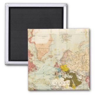 Handels Colonial Atlas Map Magnet