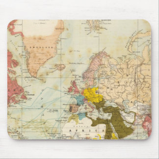 Handels Colonial Atlas Map Mousepads