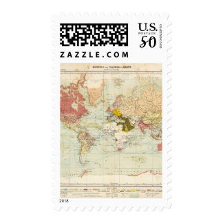 Handels Colonial Atlas Map Postage