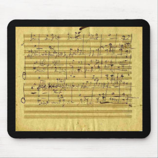 "Handel's ""Messiah"" in Beethoven's hand Mouse Pad"