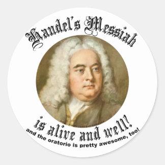 Handel's Messiah Stickers