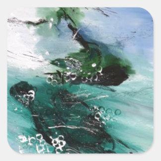 Handels Water Music.jpeg Square Stickers