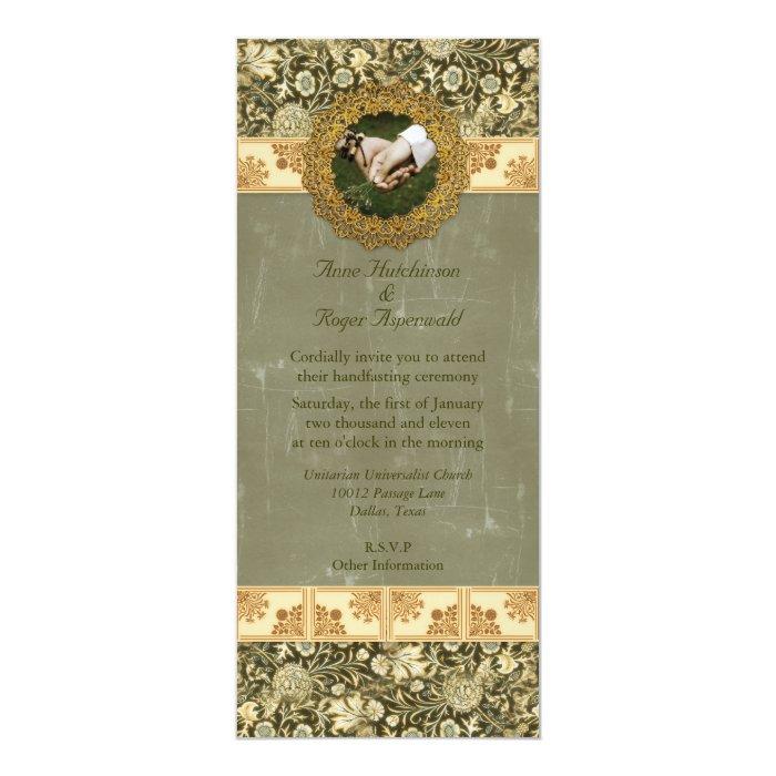 Handfasting Invitation: Handfasting Card