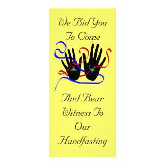 Handfasting Invitations Rack Card