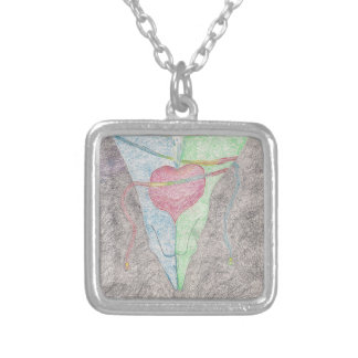 HandFasting Silver Plated Necklace