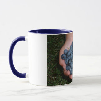 Handful of Fresh Blueberries Mug