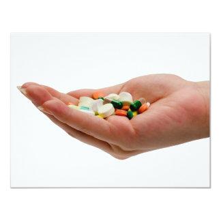 Handful of medicine card