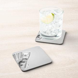 Handful of Money Coaster
