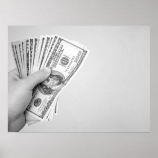 Handful of Money Print