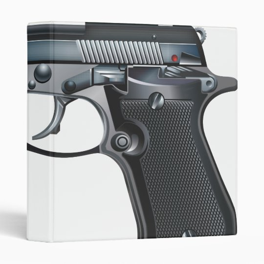 HandGun 3 Ring Binder