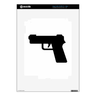 Handgun iPad 2 Decal