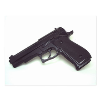 Handgun Post Card