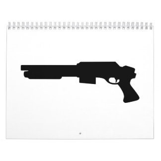 Handgun rifle calendar