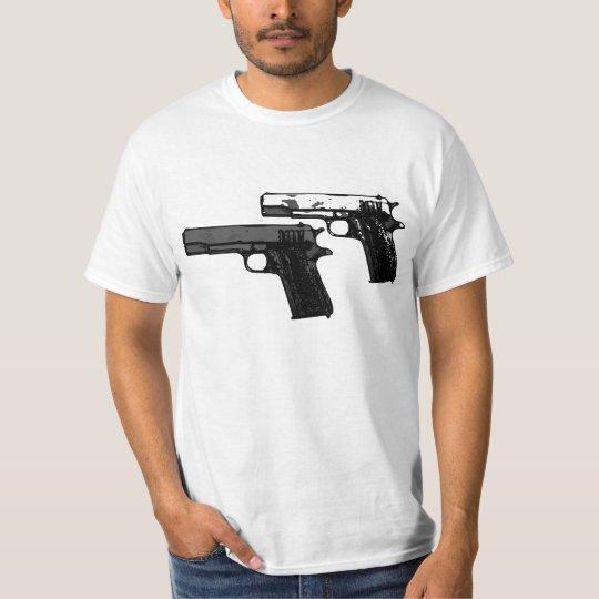 Handguns Akimbo T-Shirt