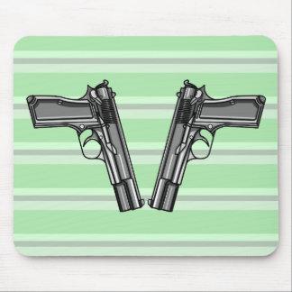 Handguns, Pistols, Firearms Mouse Pad