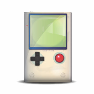 Handheld Game Console Cutout