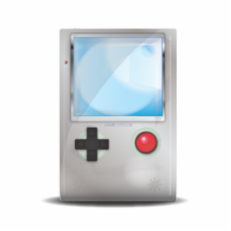 Handheld Game Console Statuette