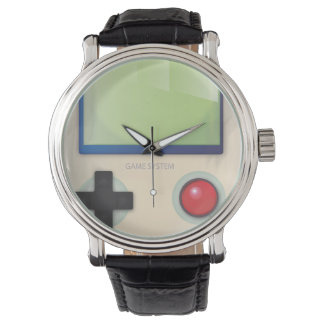 Handheld game console wristwatch