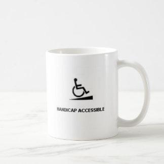 HANDICAP A COFFEE MUG