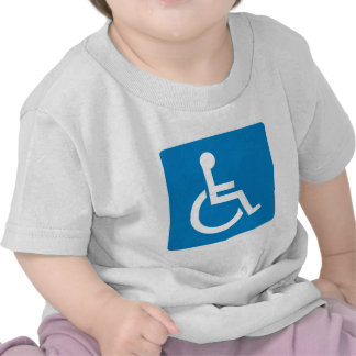 Handicap Accessibility Highway Sign Tees