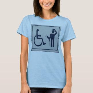 handicap-gas-sign T-Shirt