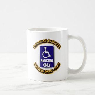 Handicap Insignia,Handicap sign,handicapped tag,ha Coffee Mug