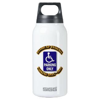 Handicap Insignia,Handicap sign,handicapped tag,ha Thermos Bottle