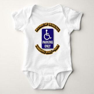 Handicap Insignia,Handicap sign,handicapped tag,ha T-shirts