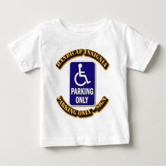 Handicap Insignia,Handicap sign,handicapped tag,ha Infant T-shirt