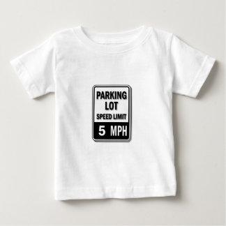 Handicap Insignia - Parking Lot Speed Limit Baby T-Shirt